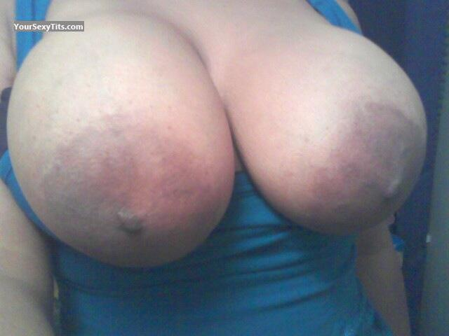 Tit Flash: Extremely Big Tits - Nunya from United States